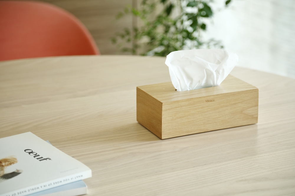 Tissue case SP wood